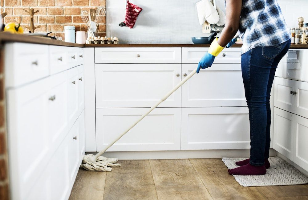 Get into a new living with a cleanly house