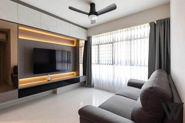 4 room hdb resale renovation ideas