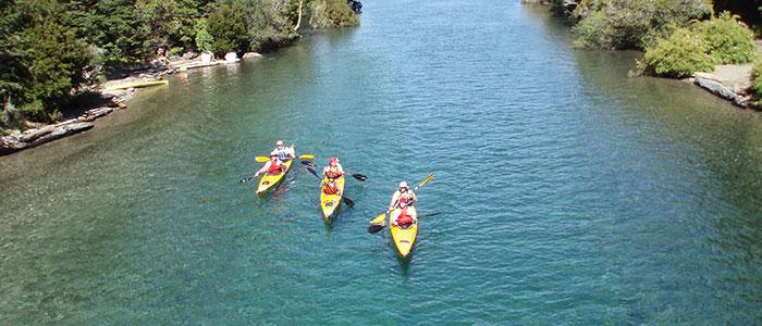 amazing kayaking experience